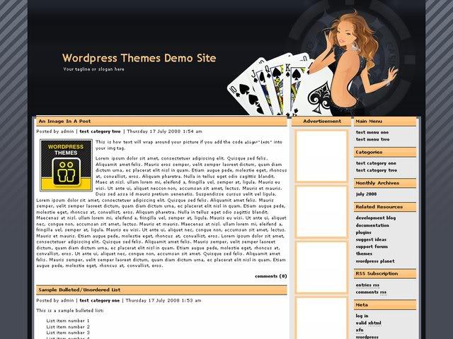 Free casino template wordpress kansas city casino hotel
